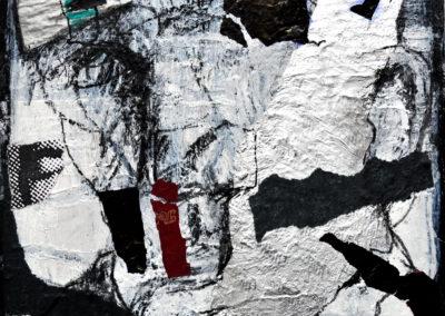 F wie süße Versuchung, 2012, Collage, 21x21cm
