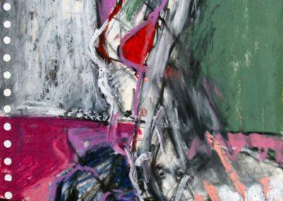Wonderpra, 2006, Mt auf Papier, 21x21cm
